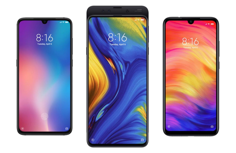 Mi9, Mi Mix3 et Note7 : jusqu'à 46% de remise sur les smartphones Xiaomi