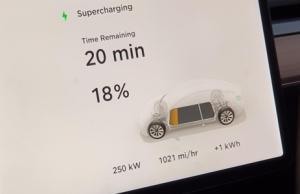 Tesla l'avait promis : le superchargeur nouvelle génération arrive en Europe, 120 km en 5 minutes !