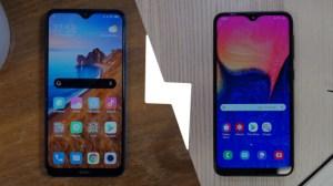 Xiaomi Redmi 8 vs Samsung Galaxy A10 : lequel est le meilleur smartphone ?