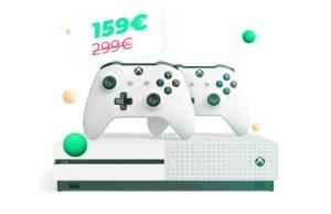 Un pack Xbox One S + 2 manettes à moins de 160 euros chez Cdiscount