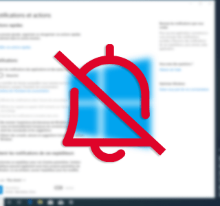 Comment couper les notifications sur Windows 10