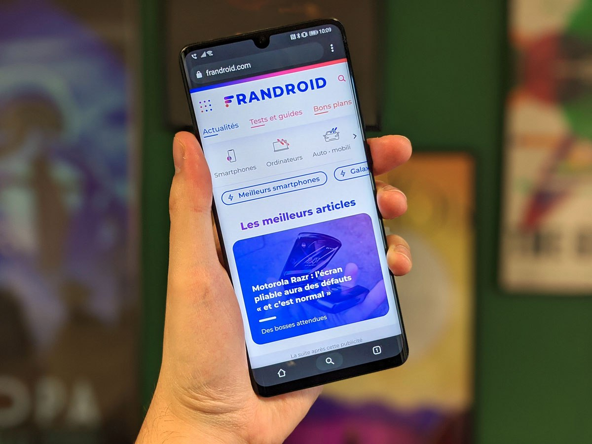 Chrome sur Android : le nouveau design Duet se simplifie