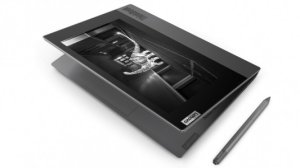 Le Lenovo ThinkBook Plus intègre un second écran e-ink tactile au CES 2020
