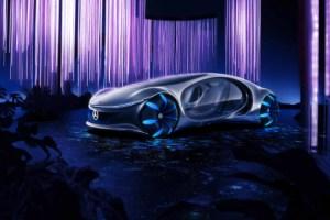 Mercedes Vision AVTR : un concept électrique indécemment futuriste inspiré du film Avatar