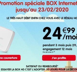 Mieux que l'ADSL, cette box4G avec 250Go de data est à 25euros par mois