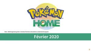 Pokémon Home : vous pourrez bientôt stocker et récupérer vos monstres favoris dans le cloud