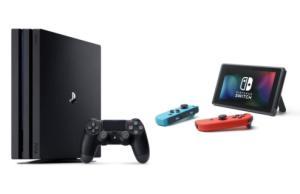 Les prix de la PS4 Pro et de la Nintendo Switch chutent pendant les soldes 2020
