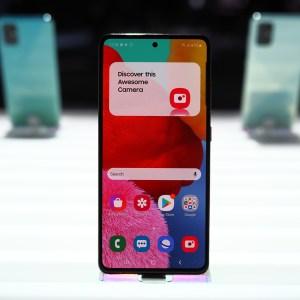 Prise en main du Samsung Galaxy A51, ou l'entrée du milieu de gamme