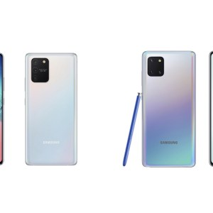 Samsung Galaxy Note 10 Lite et Galaxy S10 Lite officialisés juste avant le CES 2020