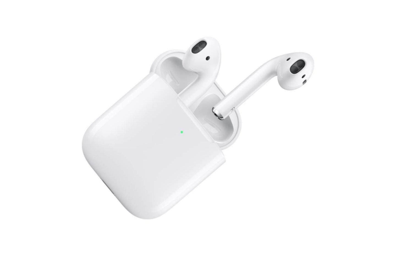 Les Apple AirPods 2 avec boîtier de charge sans fil sont au plus bas