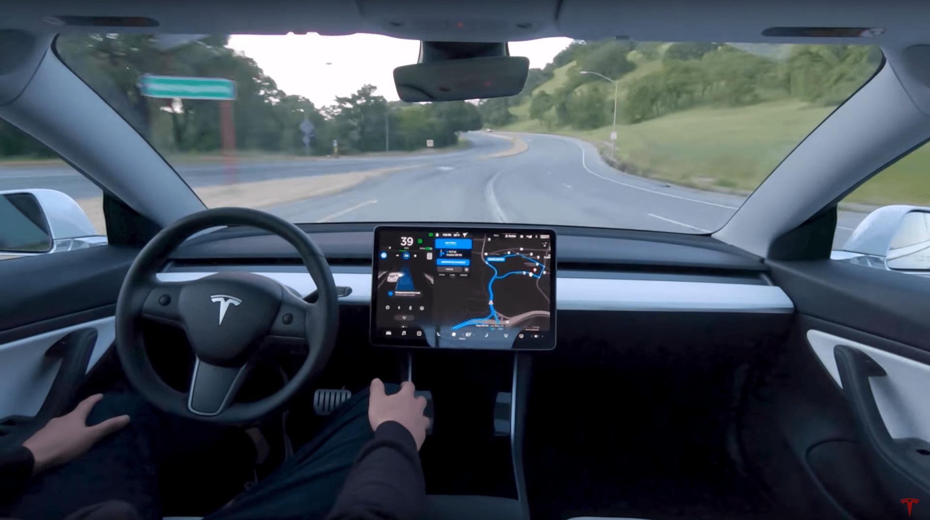 La Tesla Model 3 profiterait d'un lifting intérieur toujours bienvenu