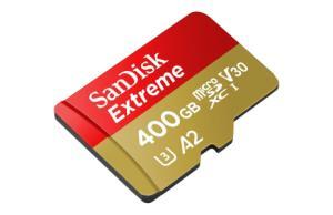 Cette microSD SanDisk Extreme de 400 Go est aujourd'hui à son prix le plus bas