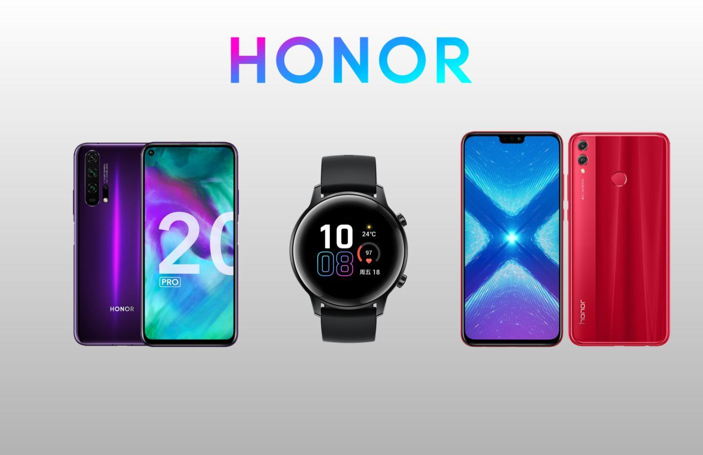 Honor relance sa boutique officielle : Honor 20 à 297 euros et Honor 20 Pro à 404 euros