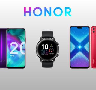 Honor relance sa boutique officielle : Honor 20 à 318 euros et Honor 20 Pro à 418 euros