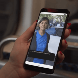 Le sous-titrage automatique d'Android 10 arriverait sur Google Chrome