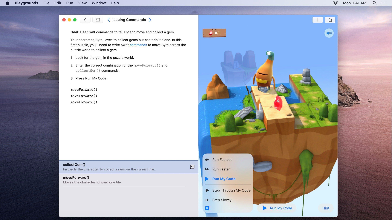 Apple veut apprendre à vos enfants à coder en Swift, directement sur Mac