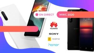 MWC 2020 : toutes les annonces en direct
