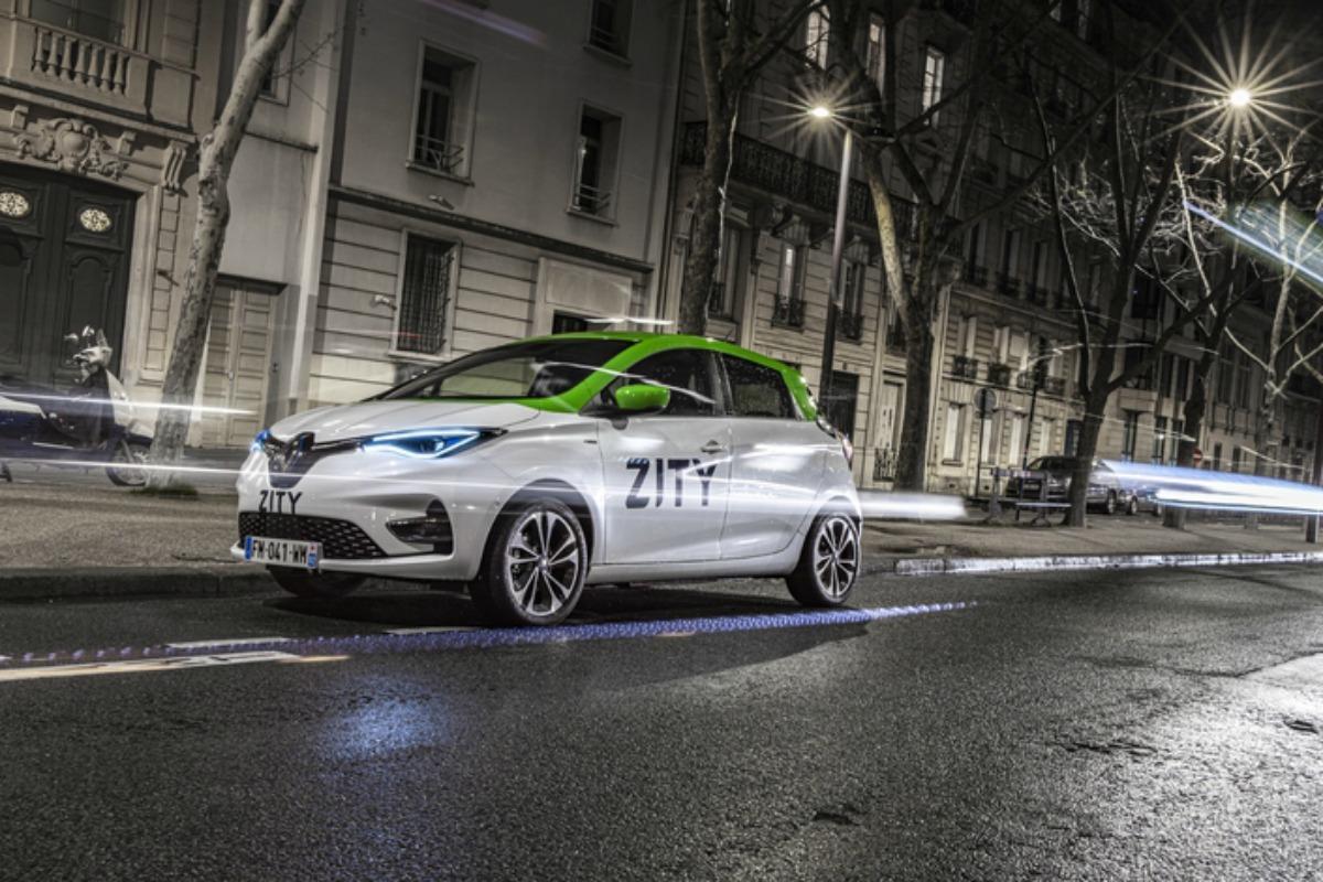Paris : Renault va déployer 500 ZOE en libre-service avec son nouveau service Zity