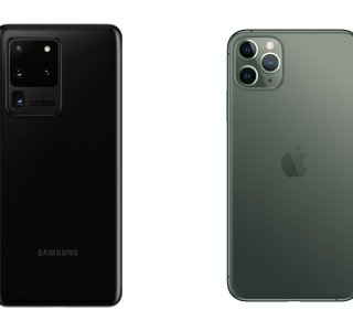 Apple iPhone 11 Pro Max vs Samsung Galaxy S20 Ultra : duel au sommet