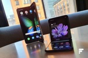 Samsung voudrait un appareil photo derrière l'écran du Galaxy Z Fold 2