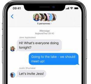 iMessage : Apple s'attaquerait à WhatsApp avec iOS 14
