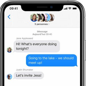 iMessage : Apple s'attaquerait à WhatsApp avec iOS 14