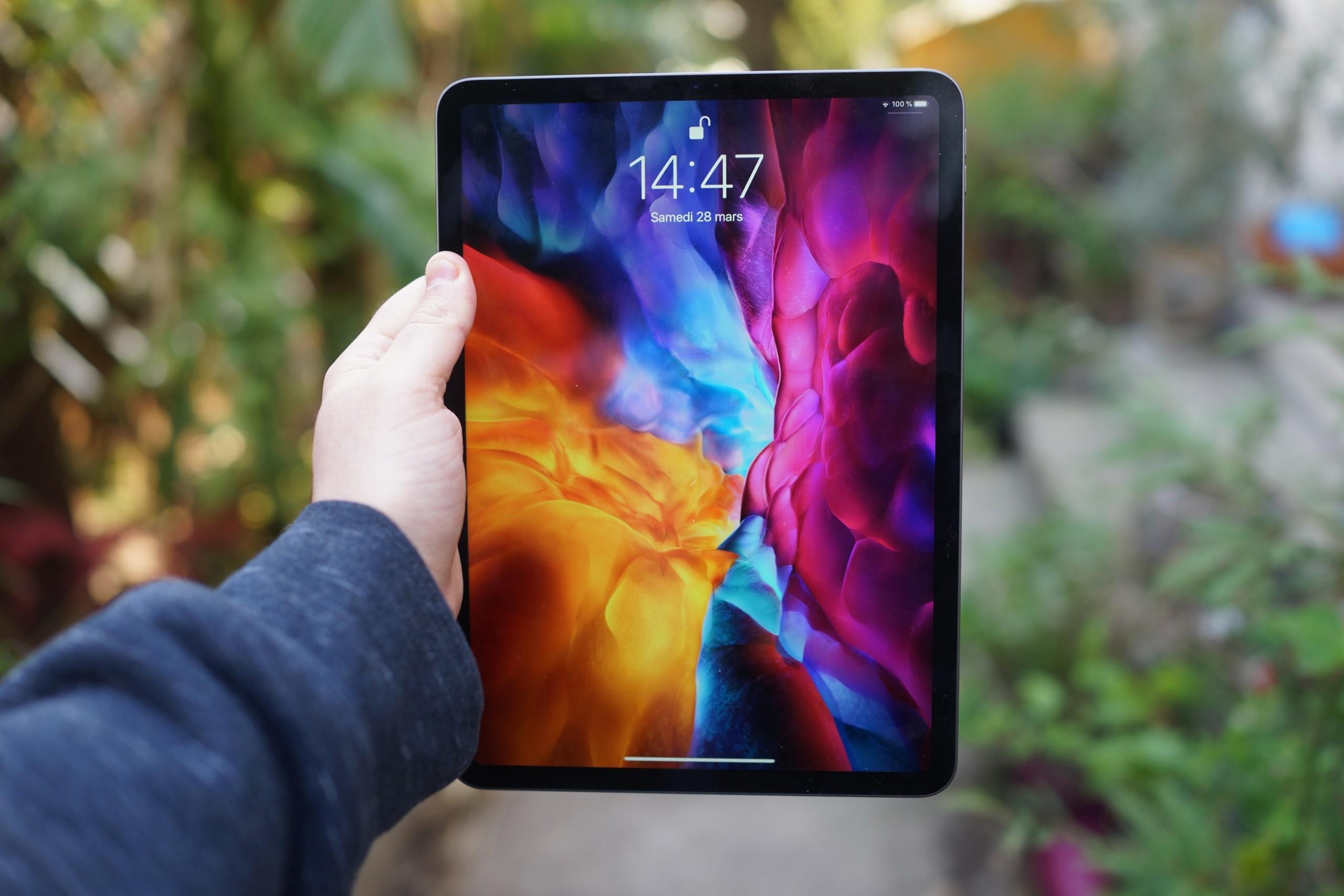 iPad Pro: Apple voudrait de l'OLED pour remplacer le Mini LED dès fin2021