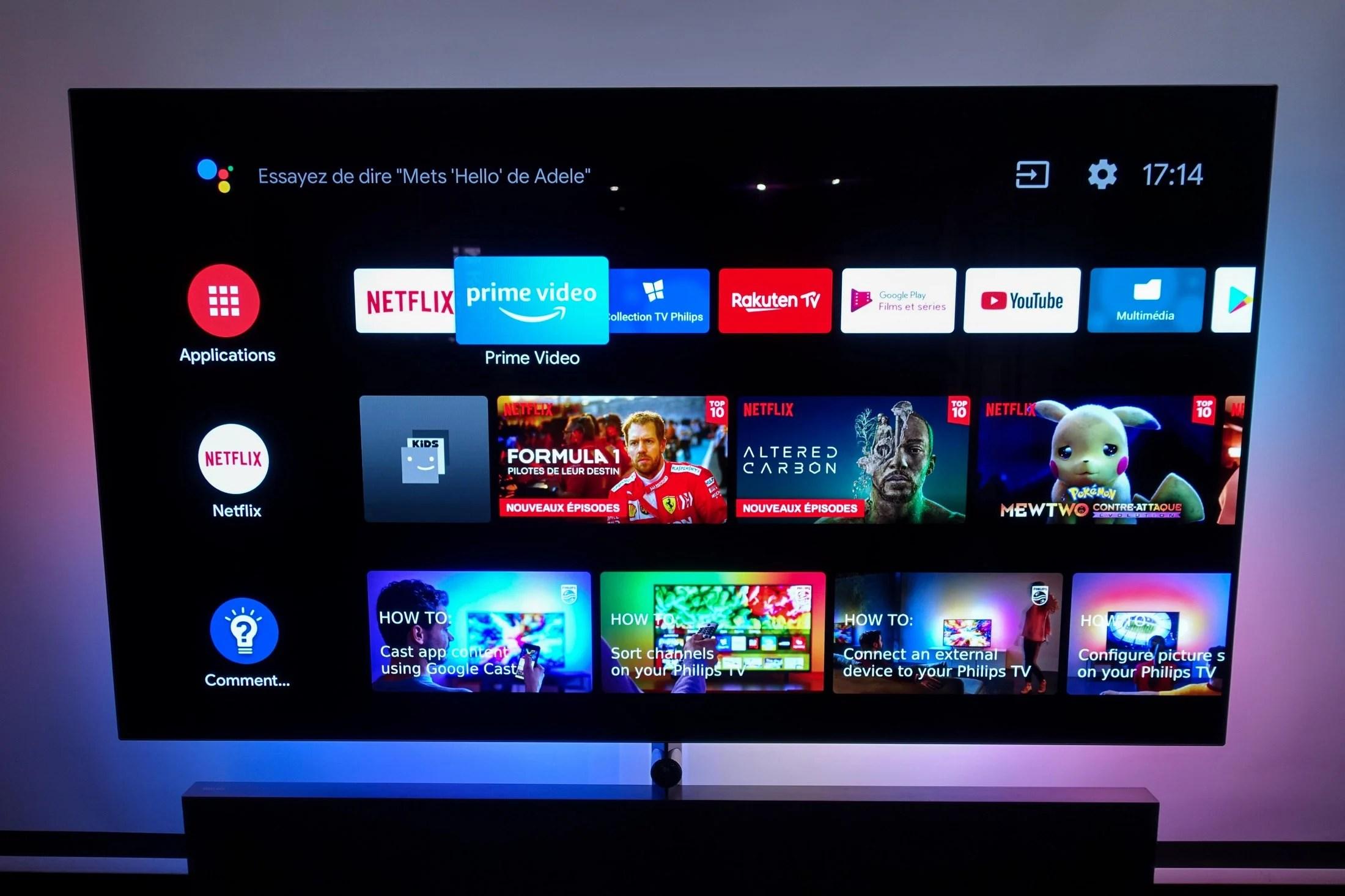 Android TV deviendrait Google TV : un changement simple qui en dirait long