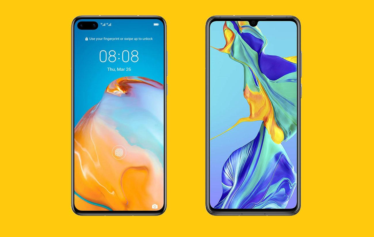 HuaweiP40 vs HuaweiP30: simple changement ou vraie révolution un an après?