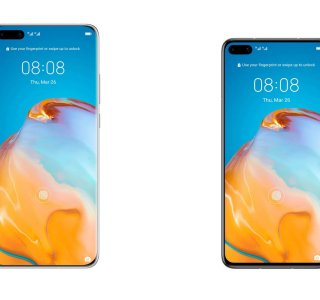 Huawei P40 et P40 Pro : prix et caractéristiques se montrent dans une fuite