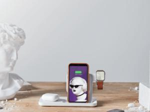 Logitech propose un chargeur sans fil 3-en-1 au nez et à la barbe d'Apple