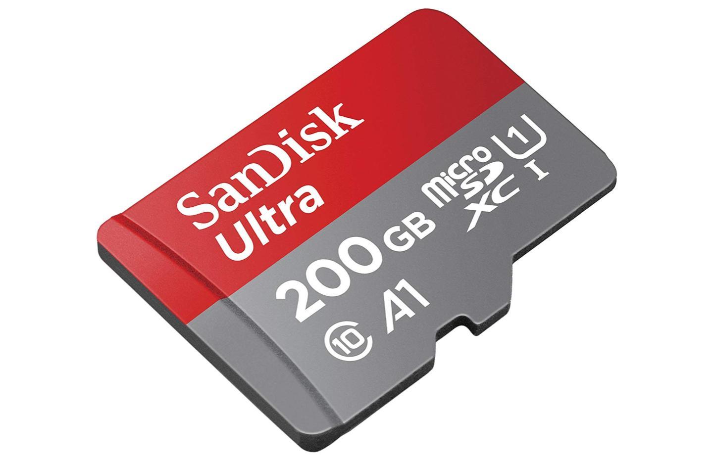 La microSD SanDisk Ultra 200 Go au plus bas, seulement 13 centimes le Go