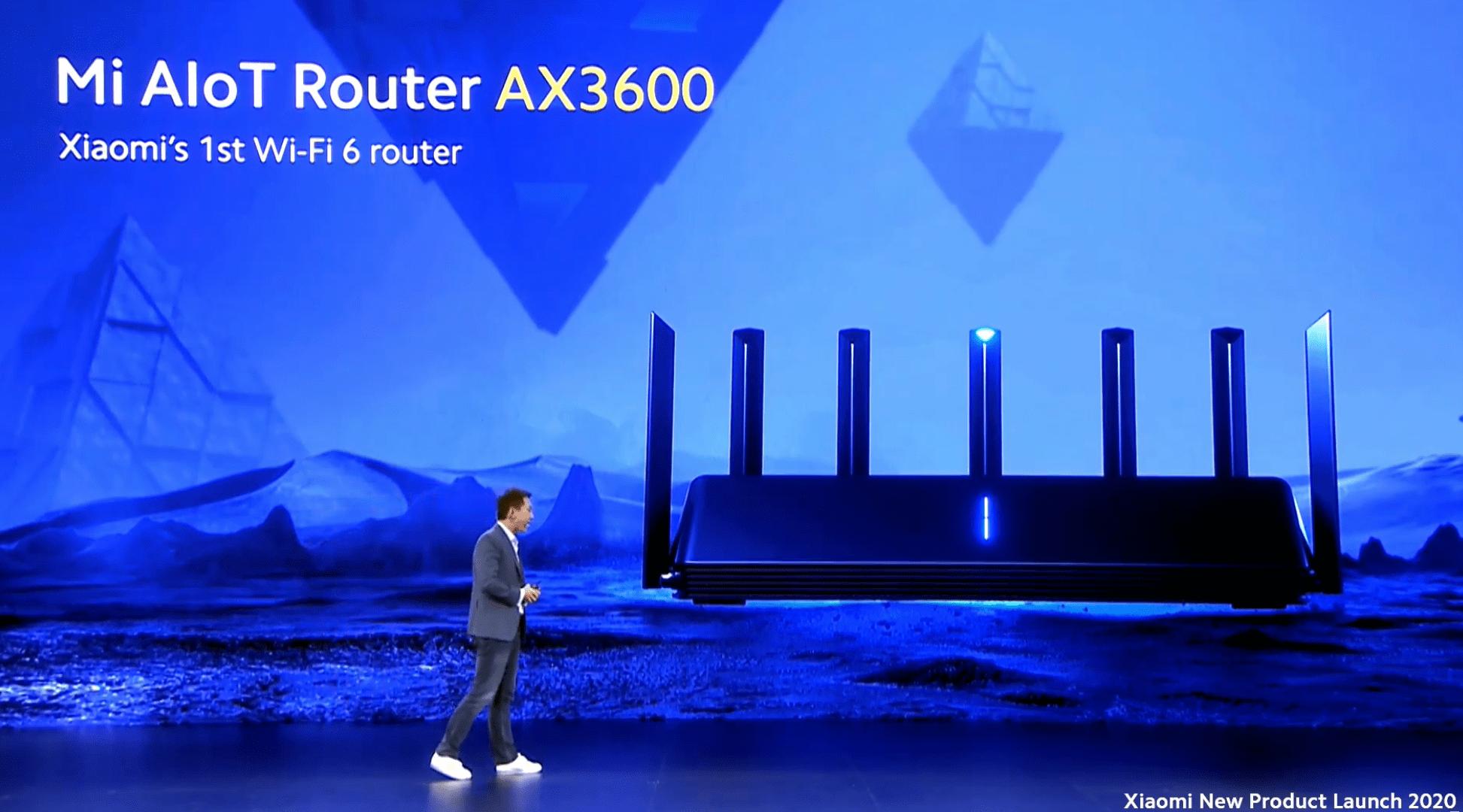 Xiaomi fait chuter le prix des routeurs Wi-Fi 6 avec le Mi AIoT Router AX3600