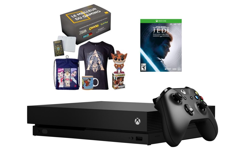 La console Xbox One X est aujourd'hui à moitié prix