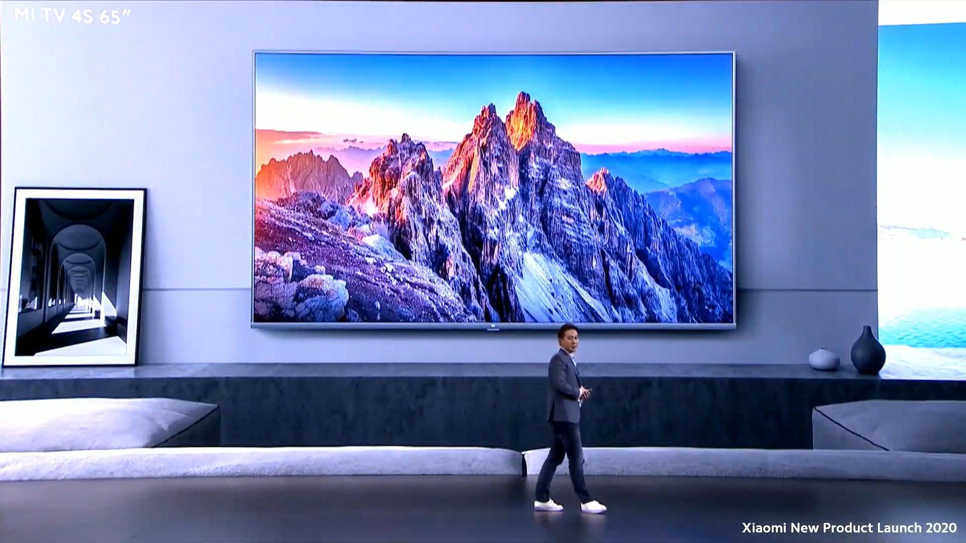 La Xiaomi Mi TV 4S 65″ arrive en France à prix canon