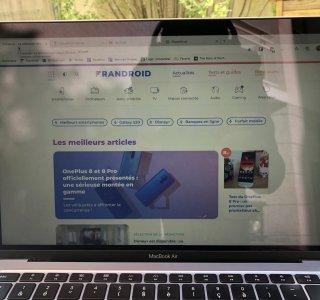 MacBook Air (2020) : Apple limite intentionnellement la luminosité de l'écran sur macOS