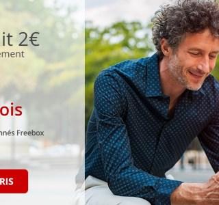 Free propose actuellement 20 fois plus de 4G avec son forfait mobile à 2 €