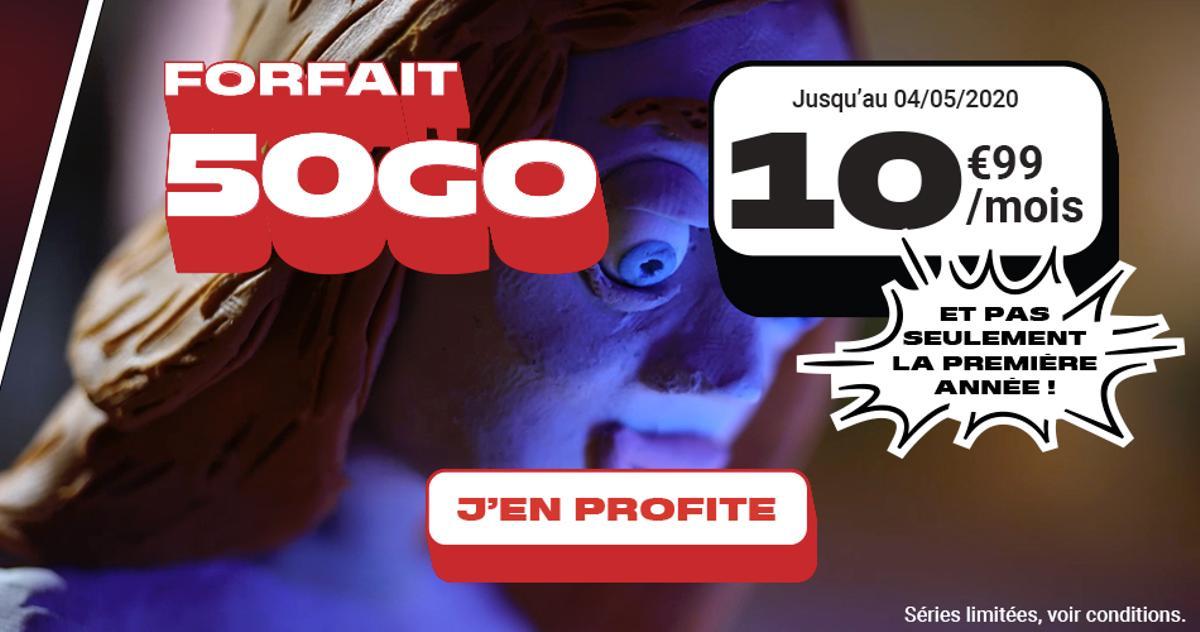 Forfait mobile : 50 Go pour 11 euros par mois «à vie» chez NRJ Mobile