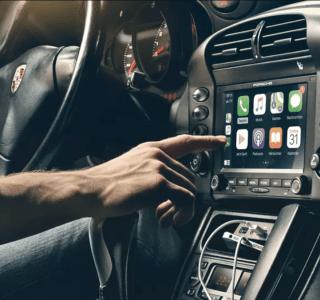Porsche : Android Auto et Apple CarPlay viennent moderniser les vieux modèles