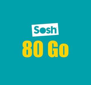 Sosh lance un forfait mobile inédit: 80Go pour 14,99€, sans engagement ni limite de temps