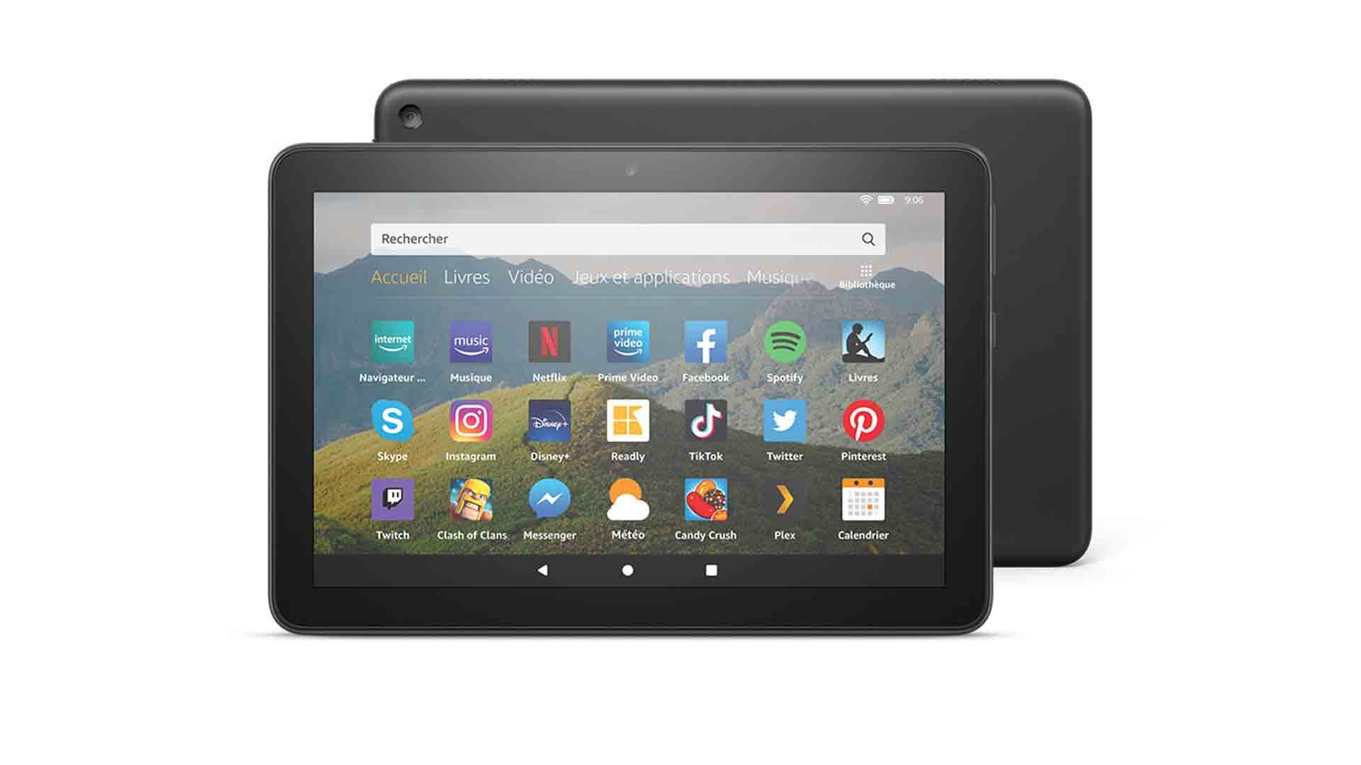 Amazon Fire HD 8 (2020) annoncée à 100 euros avec de l'USB-C et plus de stockage
