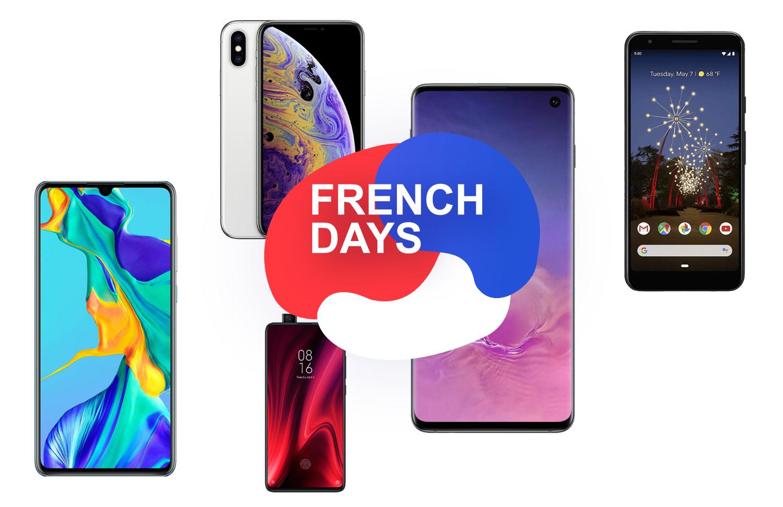 French Days : les smartphones Samsung, Xiaomi, Apple, Huawei et Google sont à l'honneur