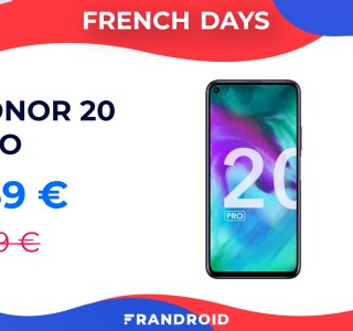 Le Honor 20 Pro avec les services Google passe à moins de 360 euros