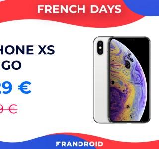 L'iPhone XS 64 Go n'aura pas de meilleur prix que durant les French Days