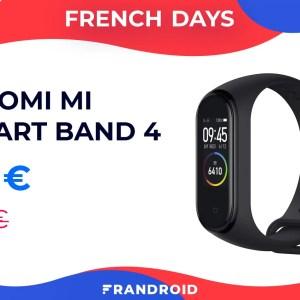 Le Xiaomi Mi Band 4 devient encore plus abordable lors des French Days