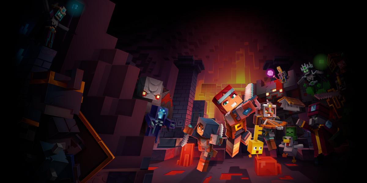 Minecraft Dungeons: 40% des joueurs xCloud utilisent l'écran tactile
