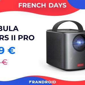 150 euros de réduction pour l'excellent vidéoprojecteur Nebula Mars II Pro
