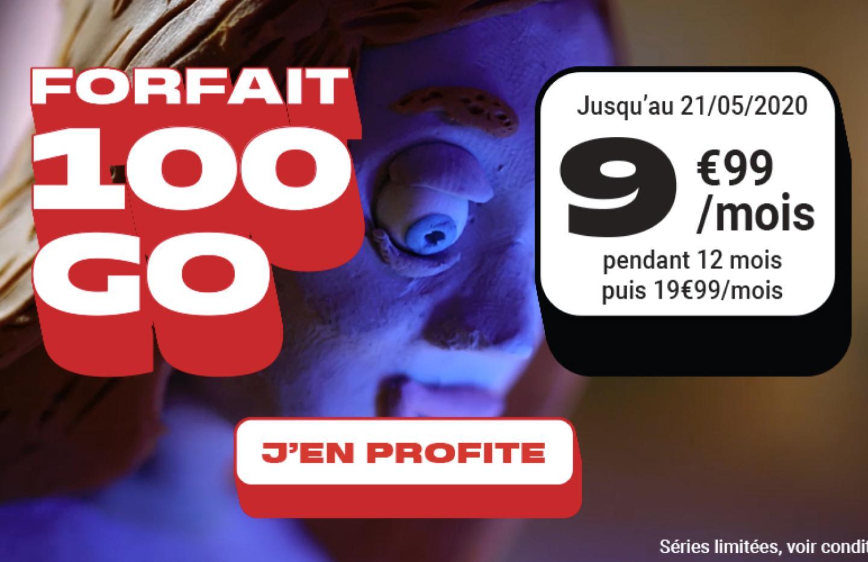 Vous utilisez une box 4G ? Ce forfait mobile 100 Go à 9,99 €/mois est pour vous