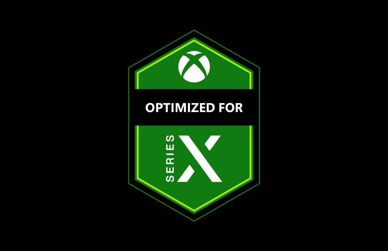 Voici le logo officiel des jeux optimisés pour la Xbox Series X