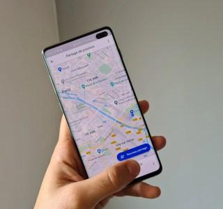 Google Maps se refait une petite beauté pour le partage de position en temps réel